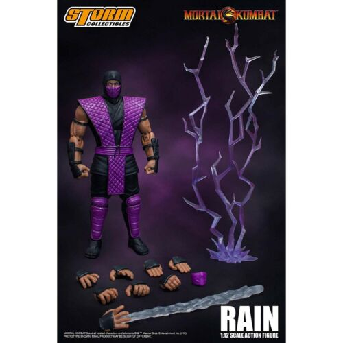 Storm Collectibles mortal kombat pluie 6.75 in (environ 17.15 cm) ACTION FIGURE NEW Toys