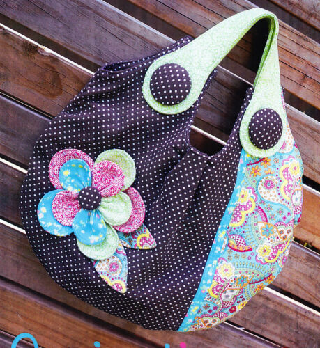 cute fabric bag PATTERN PATTERN Melly /& Me Springtime Bloom