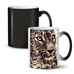 Tiger Face Photo NEW Colour Changing Tea Coffee Mug 11 oz   Wellcoda