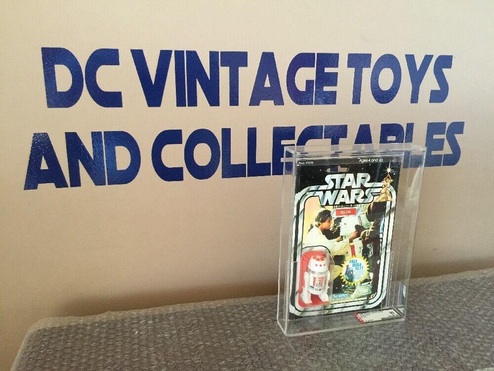 Vintage 1978 Star Wars Vintage Kenner 20 G R5-D4 Moc AFA 80 80 85