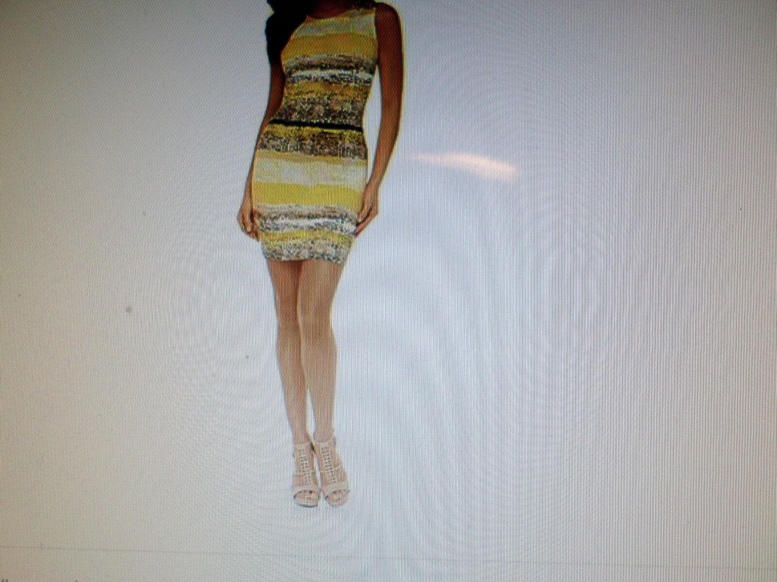 Kardashian Kollection Body Con Printed Dress
