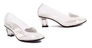 Ellie-212-Ariel-Clear-Cinderella-Glitter-Heart-Party-Costume-2-034-High-Heel-Shoes