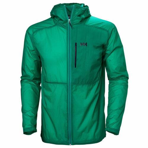 Helly Hansen Mens Vana Windbreaker Hood Water Resistant Packable Jacket