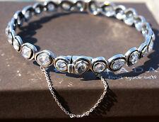 "Silpada~""Brilliance"" Sterling Silver & Cubic Zirconia Bracelet~B2710~Fabulous!!"