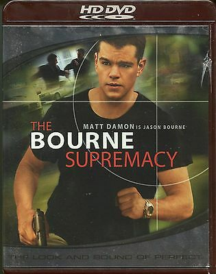 54fa0f21f The Bourne Supremacy (HD-DVD, 2004, Widescreen Edition) 25192516726 | eBay