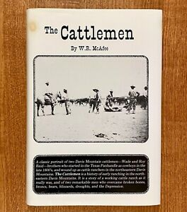 THE-CATTLEMEN-by-W-R-McAfee-HC-DJ-First-Edition-SIGNED
