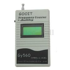 GY560 Frequency Counter Meter for Two Way Radio Transceiver GSM 50 MHz-2.4 GHz