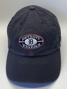 Detroit-Tigers-Blue-Vintage-Look-Adjustable-Adult-Baseball-Cap-Hat-Strap-back-47