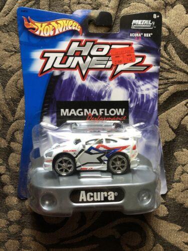 Mattel Hot Wheels Hot Tunerz Acura RSX White Tuners Magnaflow Performance HTF