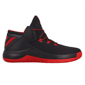 premium selection 6abda e3d2c Image is loading Adidas-Derrick-D-Rose-Menace-2-Black-Baketball-