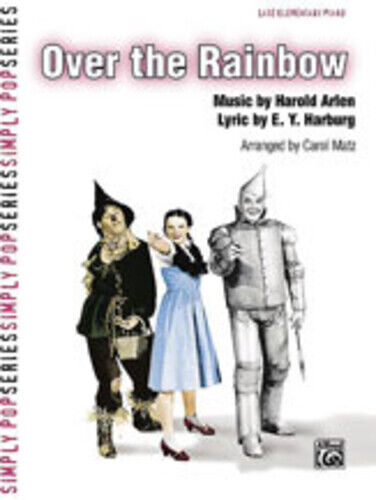 Over the Rainbow from The Wizard of Oz Piano Sheet 26116