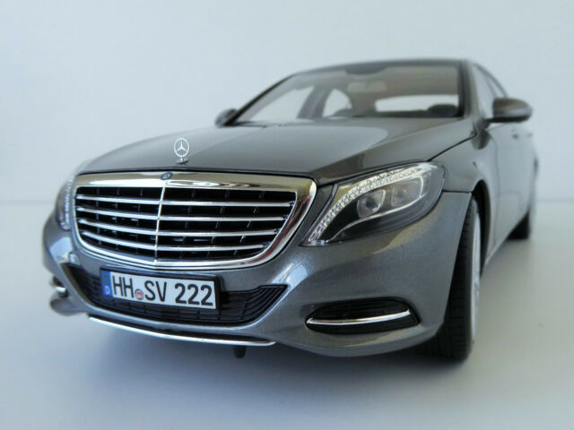 Mercedes-Benz S-CLASS 2013 Silver 1/18 Mercedes 222 Norev 183481 S-CLASS