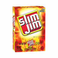 Slim Jim Original Smoked Snack Stick .28 oz (120 ct) meat protein food bulk yum