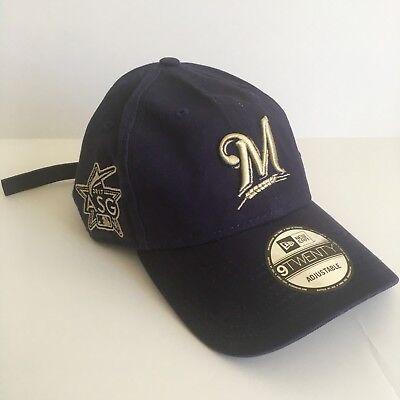 Weitere Ballsportarten Bescheiden New Era Milwaukee Brewers Asg17 9twenty Marineblau Strapback Hut Nwt Letzter Stil