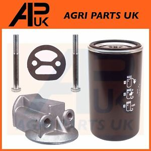 Massey-Ferguson-240-265-275-285-550-Tractor-Spin-on-oil-filter-Conversion-Kit
