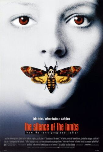 Silence Of The Lambs Movie Poster 24x36 USA Seller