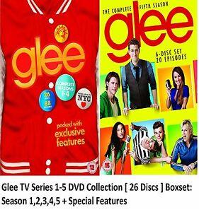 GLEE-COMPLETE-SEASON-1-5-DVD-BOX-SET-FOX-MUSICAL-SERIES-BRAND-NEW-1-2-3-4-5-UK