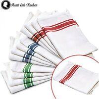 Kitchen Dish Towels Vintage Design Kitchen Decor Super Absorbent 100% Cotton 13p