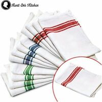 Kitchen Dish Towels Vintage Design Kitchen Decor Super Absorbent 100% Cotton 13p