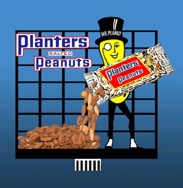 Planters Peanuts Animated Billboard Sign #7062 N Scale Miller Engineering New!