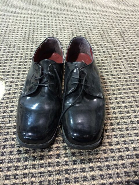 Federico Leone Square Toe Tuxedo Shoe Many Sizes