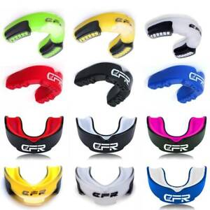Gel Gum Shield Mouth Guard Kids Junior MMA Boxing Rugby Teeth Sport Protection H