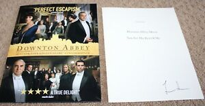 Downton-Abbey-John-Lunn-HAND-SIGNED-AUTOGRAPHED-SHEET-MUSIC-FYC-promo