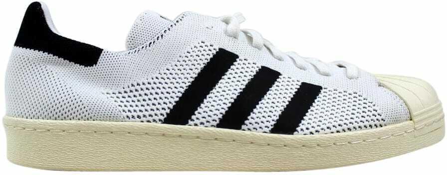 Adidas Superstar 80 S Primeknit Noir Blanc-Or métallique S82779 Homme Taille 9.5