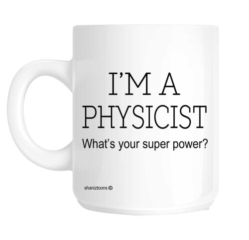 Physicist Funny Gift Mug shan410