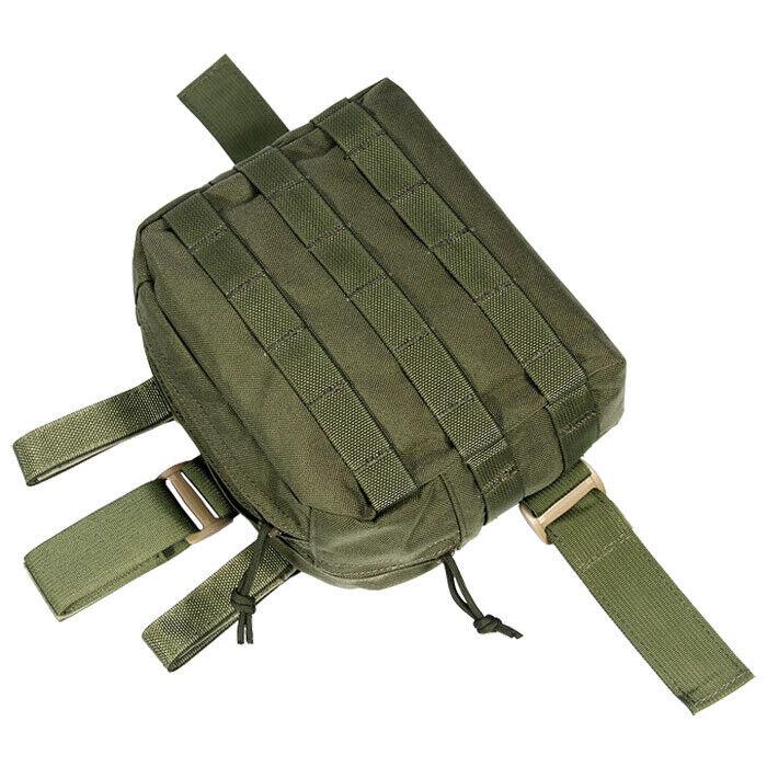 Flyye Combate Gota Pierna Utility Dump Pouch  Molle Sistema Airsoft Ranger verde  marca famosa