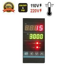 Vertical Universal Pid Temp Controller With Ssr Output Amp 2 Alarm 1250 2280