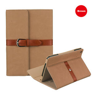 Belt 360 Rotating PU Leather Case Cover Skin for iPad 4 3 2