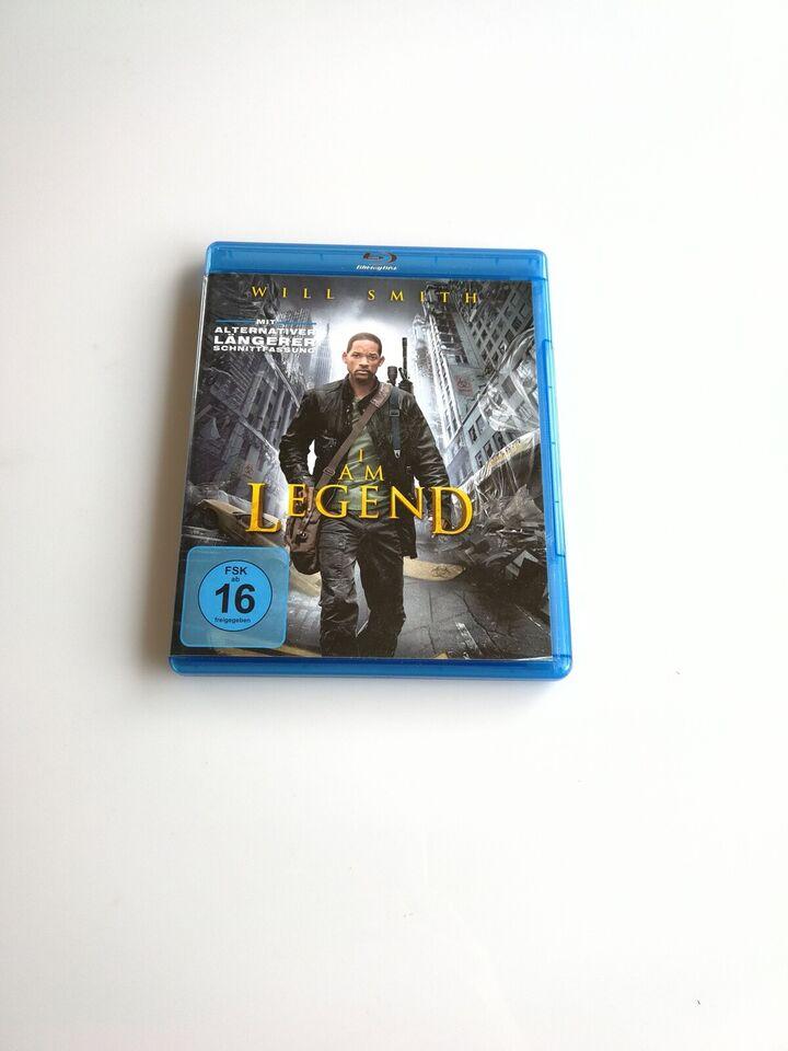 I an legend, instruktør Francis Lawrence, Blu-ray