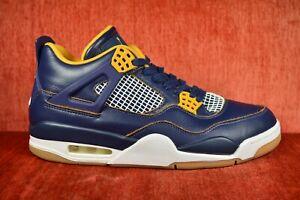WORN-TWICE-Men-039-s-Nike-Air-Jordan-4-Retro-Dunk-From-Above-308497-425-Size-10-Blue