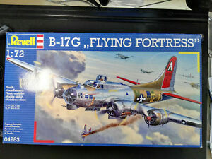 B-17-G-034-Flying-Fortress-034-Revell-Scale-1-72-Kit-04283