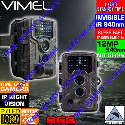 Home Security Camera Wireless System 8GB Trail Scout Hunting Home