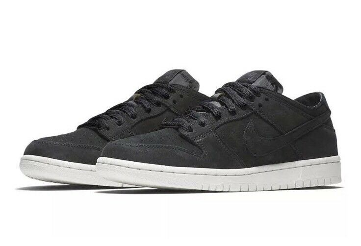 Nike SB Zoom Dunk Low Pro Decon Mens Shoes Sz 7.5 Black Summit White AA4275 002 Casual wild