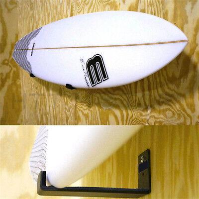 Durable Surfboard Wakeboard Kiteboard Boards Metal Base Wall Mount Racks Hanger HTTMT