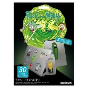 Rick-And-Morty-Tech-Stickers-Official-Merchandise