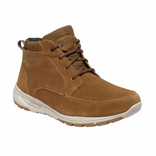 Regatta Men/'s Marine Suede Thermo Insulated Boots Brown