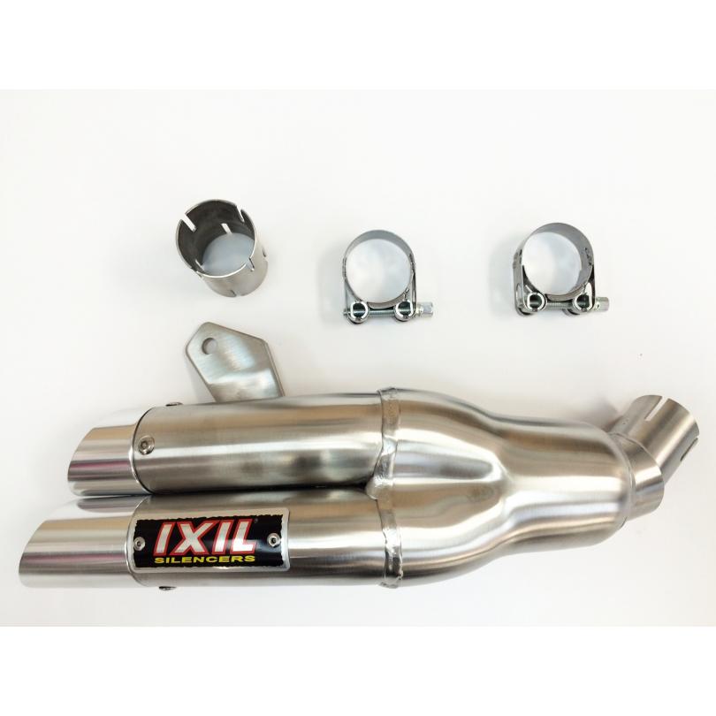 IXIL Hyperlow Dual Exit Exhaust Honda CBR250R 2011-14 XH6319X