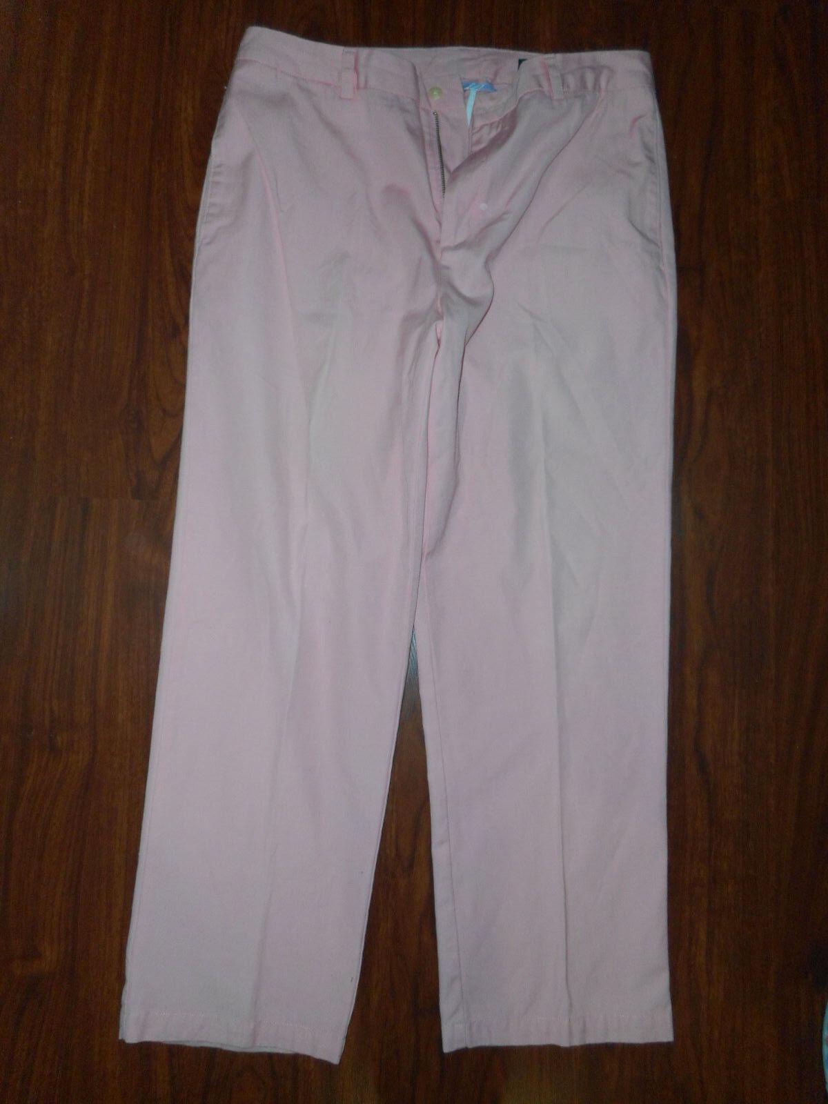 VINEYARD VINES Mens Club Casual Pants Pink Salmon Size 35 29 Cotton