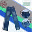 Vargaux-039-s-Seung-Hyun-Korean-Straight-Style-Jeans-Regular-Fit-Pants-Size-30 thumbnail 4