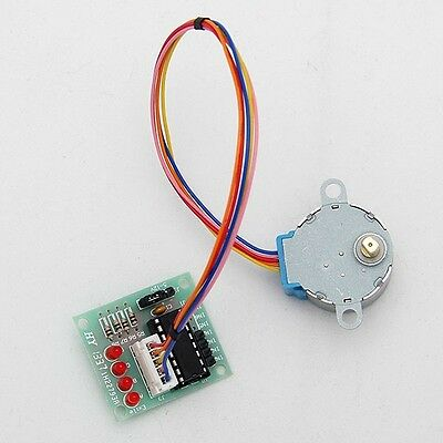 5V Stepper Motor 28BYJ-48 With Drive Test 31mm × 35mm ULN2003 5 Line4 Phase