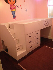 Kids bed blueprint woodworking diy plans drawings project cnc boy image is loading kids bed blueprint woodworking diy plans drawings project malvernweather Images