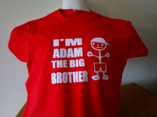 FANTASTIC FUNNY T SHIRT ALL SIZES AND COLOU I/'M THE BIG BROTHER