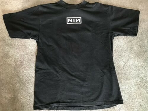 Vintage 1994 Nine Inch Nails NIN T-Shirt Size Larg