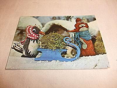 I6 Postkarte Ak Ddr Kinderfernsehn Sandmann Herr Fuchs Und Frau Elster 1974 Sparen Sie 50-70%
