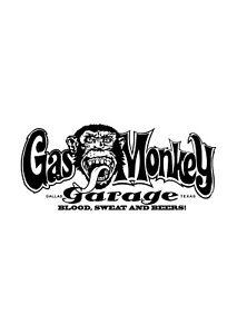 Details Zu Gas Monkey Garage Aufkleber In Schwarz 800mm X 350mm
