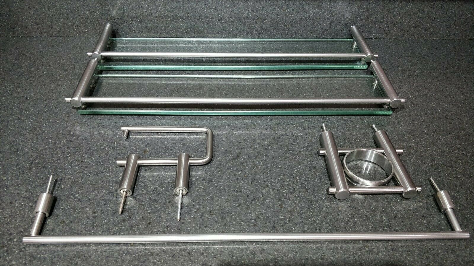 Brushed Stainless Steel Bathroom Accessories